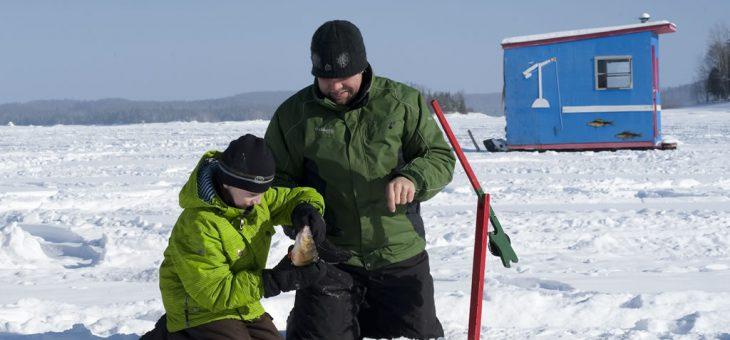Pêche hivernale sans permis