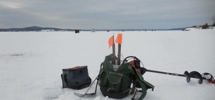 Pêche hivernale 2019 avec permis